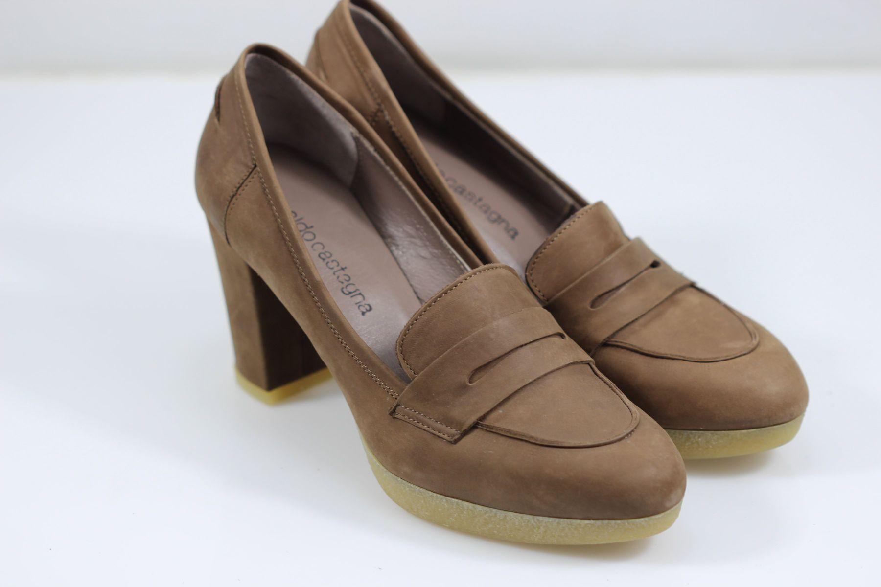 9be6074cd Туфли на каблуке Aldo Castagna 36 р 24 см коричневый 4787 - Товары ...