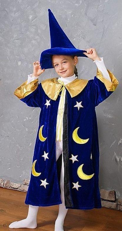 Новогодний костюм волшебника своими руками