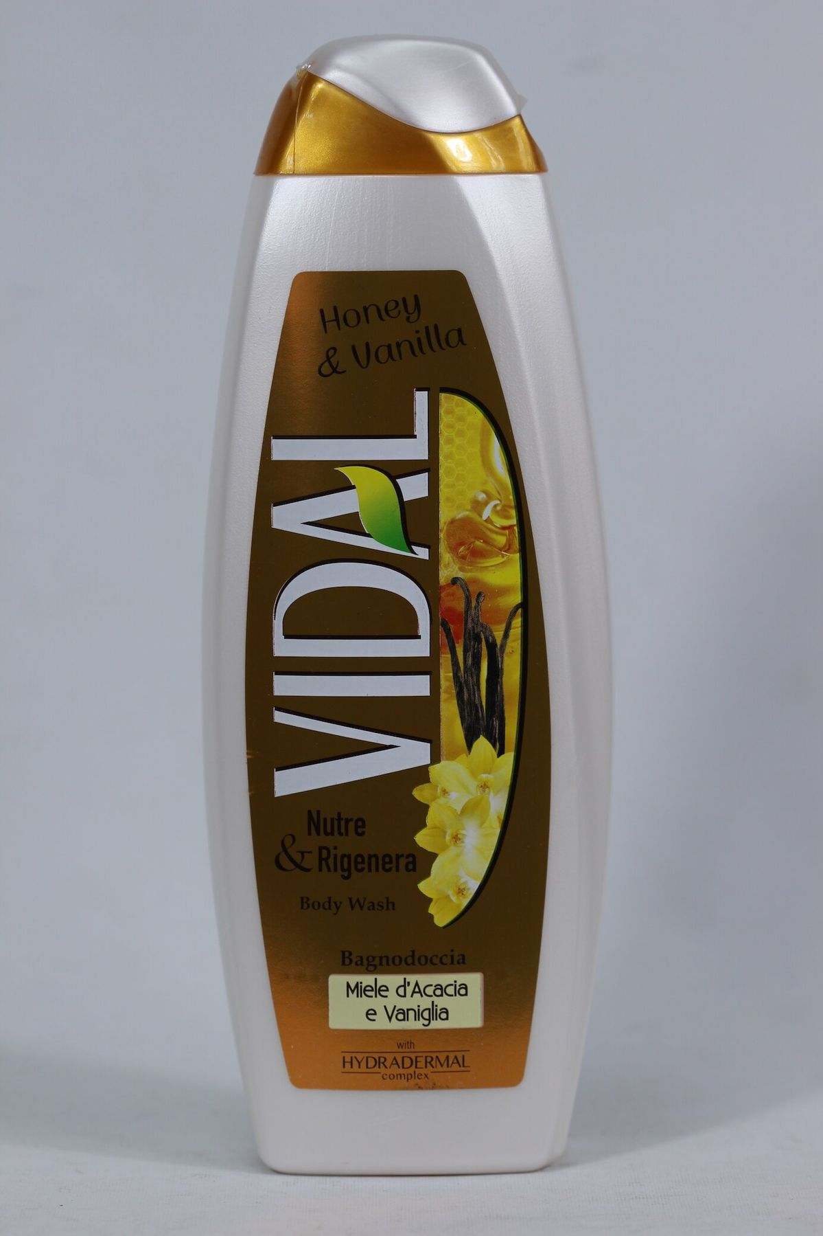 Гель для душа VIDAL Honey vanilla 500 мл