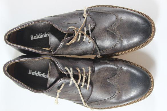 09ef02f91 Туфли мужские броги Baldinini 2662м 28.5 см 42 р темно-коричневый 2663
